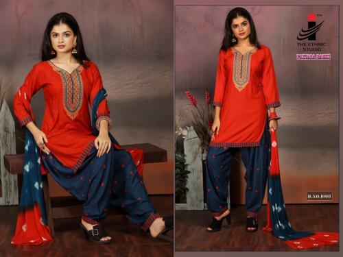 The Ethnic Studio Patiyala Babes 1008 Price - 725