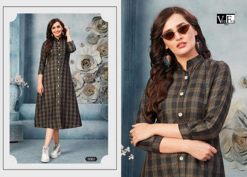 Vee Fab India Winter Grace Vol-5 wholesale Kurti catalog