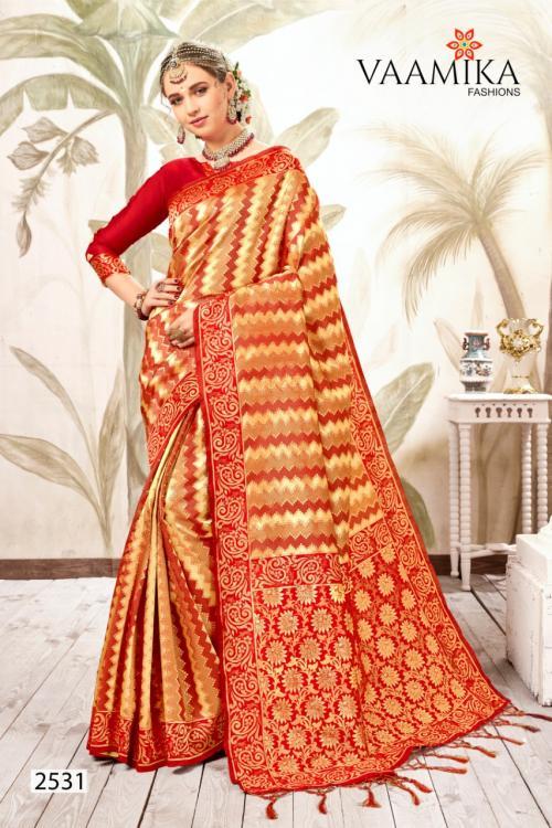 Vaamika Fashion Kanjivaram Silk 2531-2540 Series