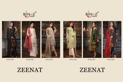 Rinaz Fashion Zeenat 1601-1606 Price - 7794