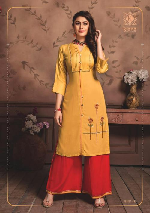 Kiana House Of Fashion Floret Vol-3 wholesale Kurti catalog