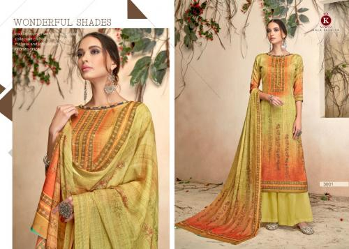 Kala Fashion Tanya 3001-3008 Series