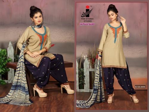 The Ethnic Studio Patiyala Babes 1006 Price - 725