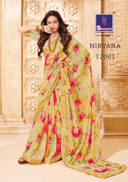 Shangrila Saree Nirvana 12001-12012 Series