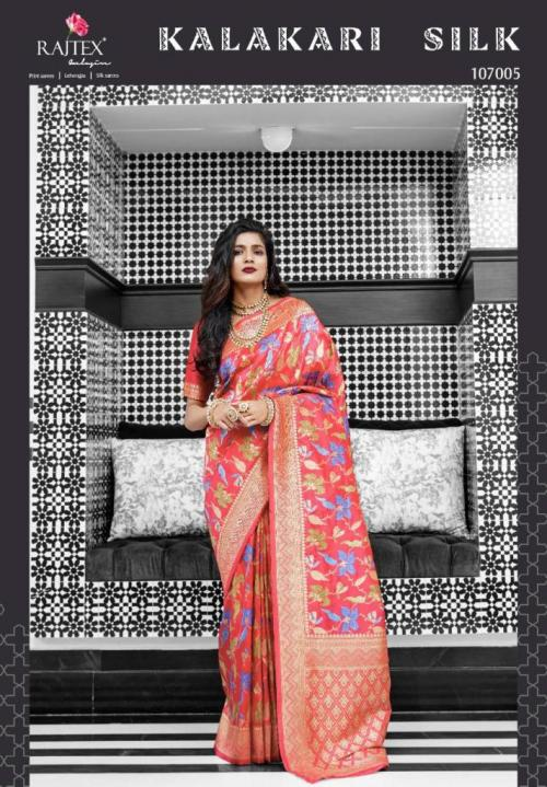 Rajtex Saree Kalakari Silk 107005 Price - 3035