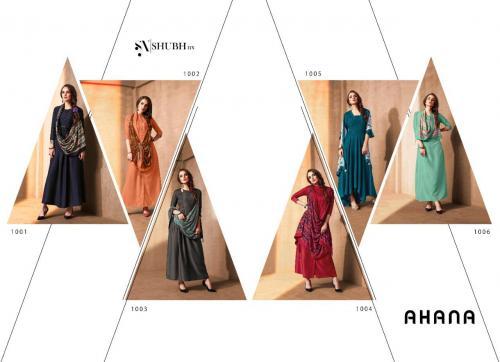 Shubh NX Ahana 1001-1006 Price - 4410