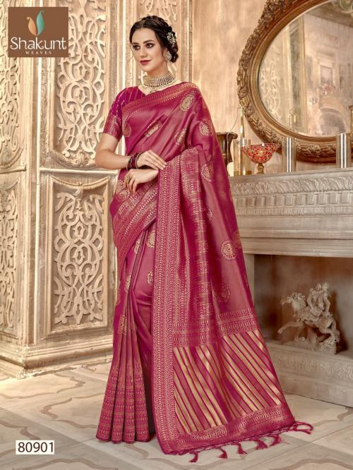 Shakunt Saree Alaknanda 80901-80904 Series
