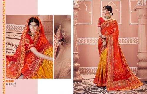Kessi Fabrics Bandhej 2140