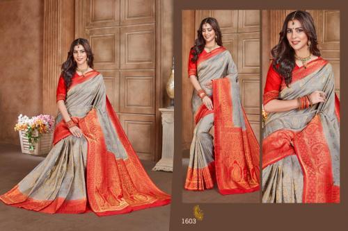 Jyotsana Saree Kanjivaram Silk 1603 Price - 2250