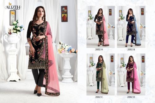 Alizeh Zaida 2002 Colors Price - 7180