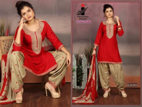 The Ethnic Studio Patiyala Babes 1004 Price - 725