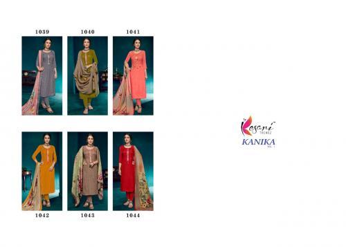Kesari Trendz Kanika 1039-1044 Price - 4440