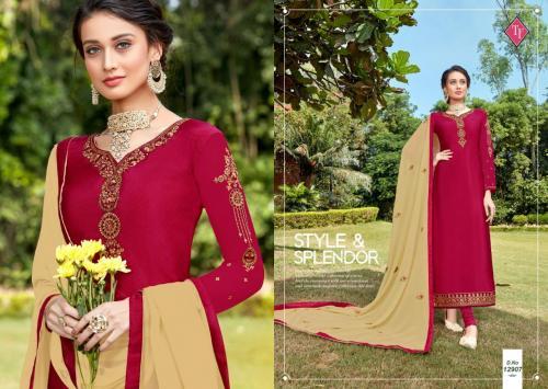 Tanishk Fashion Royal Silk 12907 Price - 795