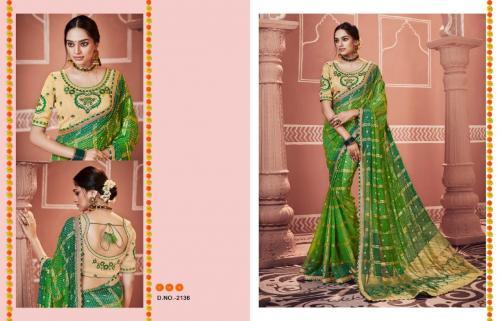 Kessi Fabrics Bandhej 2136