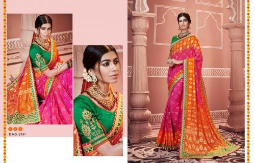 Kessi Fabrics Bandhej Vol 10 2131-2142 Series
