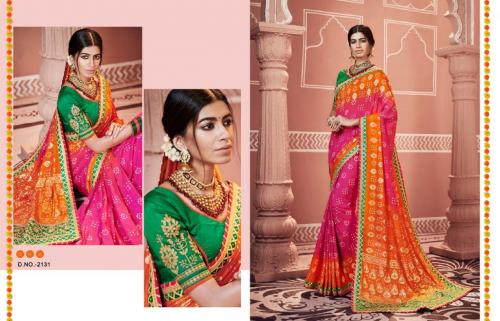 Kessi Fabrics Bandhej 2131