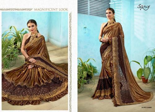 Saroj Saree Jelly Belly 210001-210006 Series