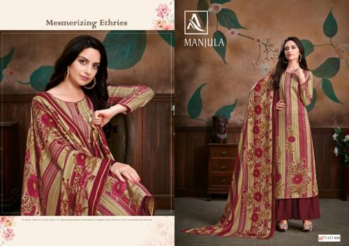 Alok Suits Manjula 337-008 Price - 580
