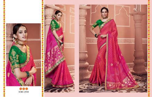 Kessi Fabrics Bandhej 2133