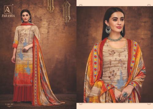 Alok Suit Farasha 441-001-441-008 Series