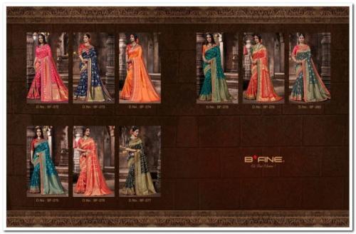B'Fine Saree Lavya 272-280 Price - 24155