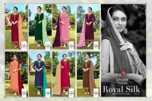 Tanishk Fashion Royal Silk 12901-12908 Price - 6360