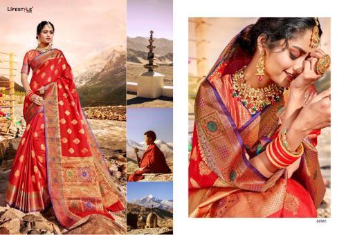 Lifestyle Saree Shaurya 60961-60966 Series