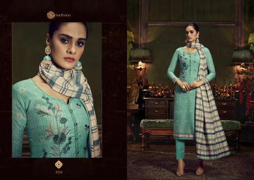 Sadhana Fashion Burberry 9524 Price - 750