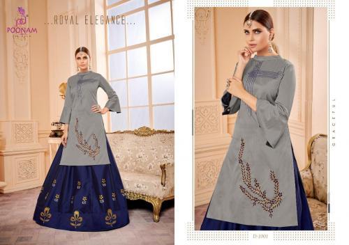 Poonam Designer Lehenga 1001-1006 Series