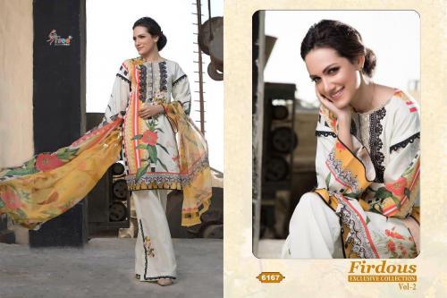 Shree Fabs Firdous Exclusive Collection 6167