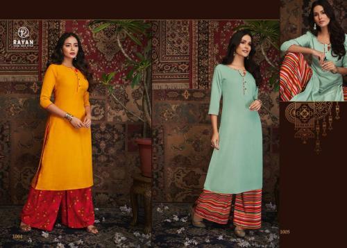 R Studio Rayan Kashvi 1004-1005 Price - 1198