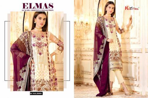 Khayyira Suits Elmas 1001-1004 Series