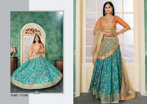 Peafowl Bridal Collection 11198 Price - 2422
