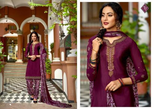 Tanishk Fashion Royal Silk French Crape Vol-6 11501-11508 Series