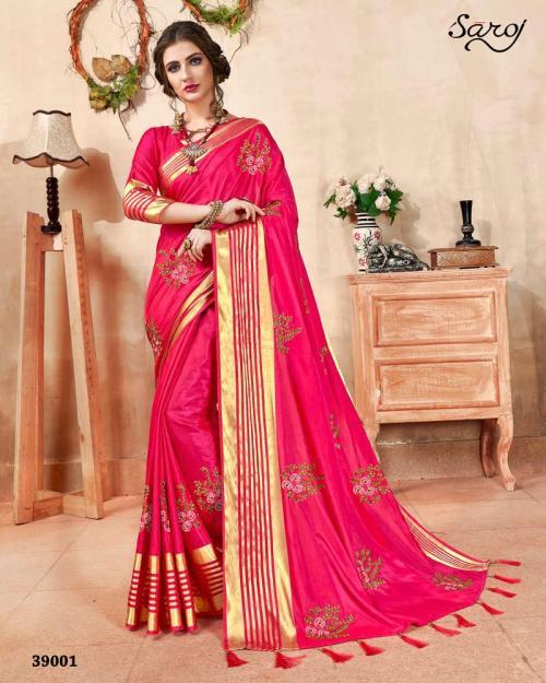 Saroj Saree Kadmbari 39001-39006 Series