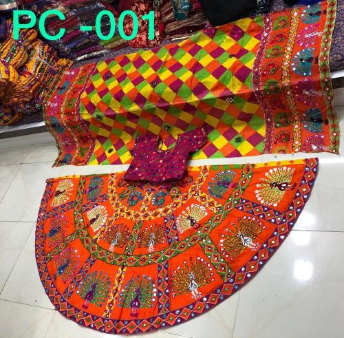 Designer Navratri Special Lehenga Choli PC-001 PC-007 Series