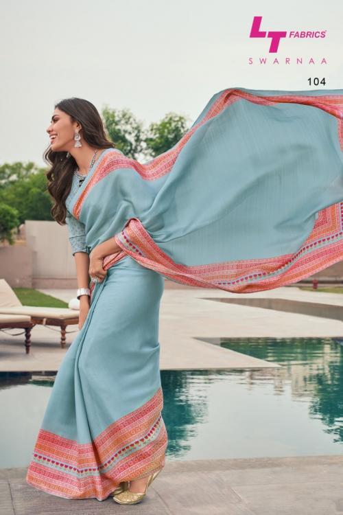 LT Fabrics Swarnaa 104 Price - 849