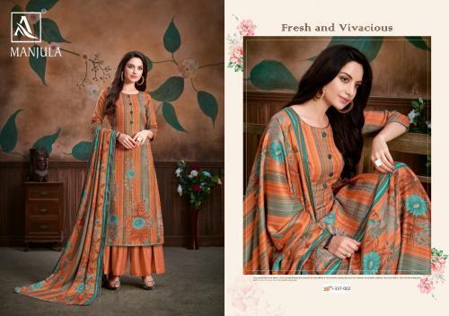 Alok Suits Manjula 337-002 Price - 580