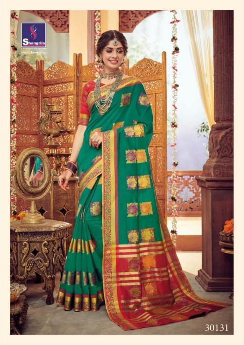 Shangrila Saree Arisha Silk Vol-2 30131-30138 Series