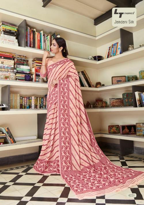 LT Fabrics Jamdani Silk 4221-4225 Series