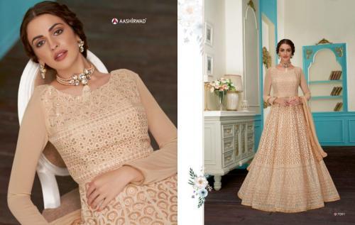 Aashirwad Creation Gulkand Anushka 7091 Price - 2495