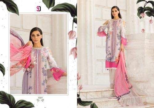 Shraddha Designer Sobia Nazir Vital 1001-1006 Series