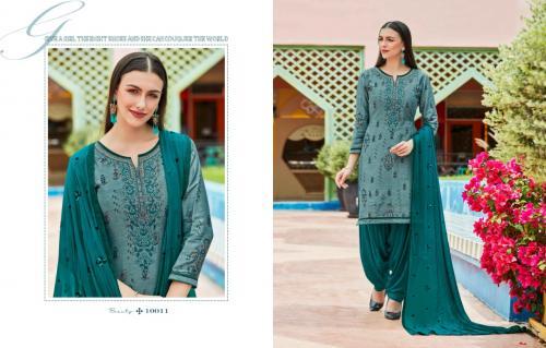 Kajree Fashion Kalaroop Saptarang By Patiyala Vol-5 10011-10020 Series