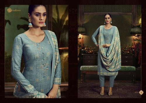 Sadhana Fashion Burberry 9521 Price - 750