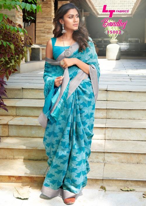 LT Fabrics Nitya Bandhej 15002 Price - 655