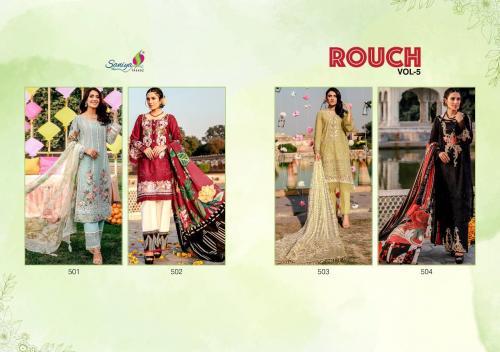 Saniya Trendz Rouch 501-504 Price - 4820
