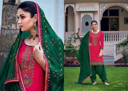 Kessi Fabric Patiala House 5935 Price - 849