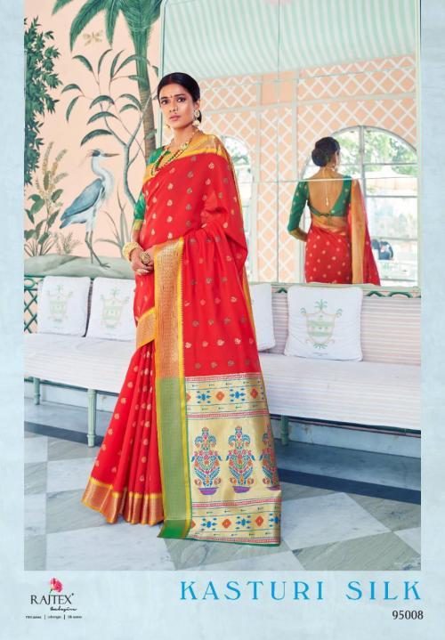 Rajtex Kasturi Silk 95008 Price - 1295