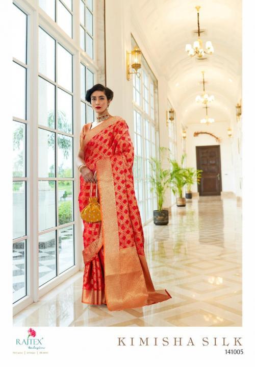 Rajtex Saree Kimisha Silk 141005 Price - 1195