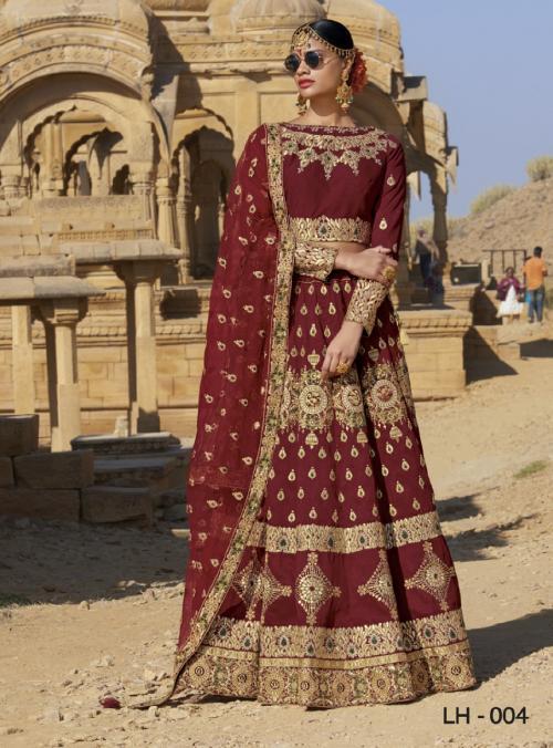 Jodha Wedding Lehengas LH-4 Price - 4369